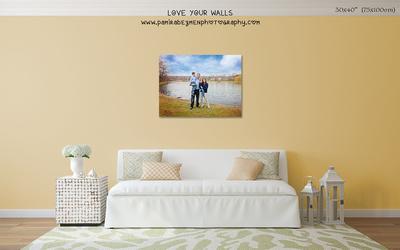 LoveYourWalls Size Chart canvas 30x40