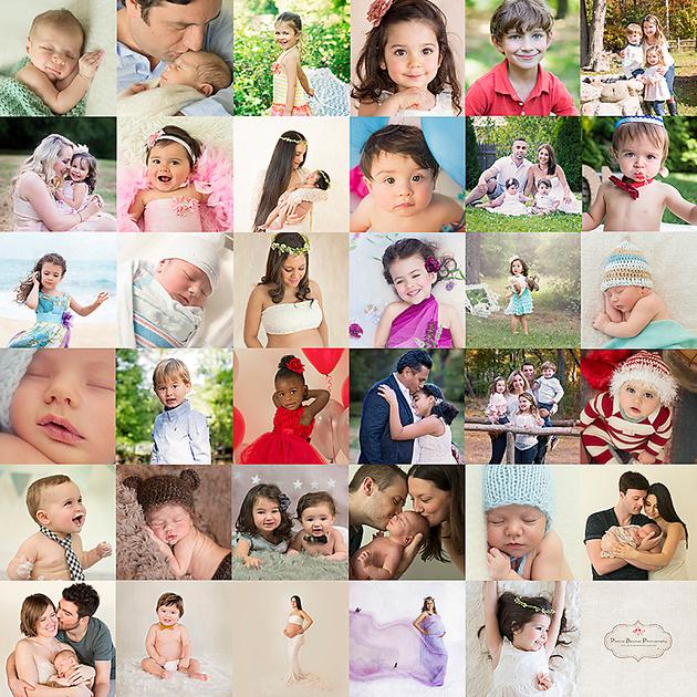 2015, Year in Review Collage, Pamira Bezmen Photography, www.pamirabezmenphotography.com