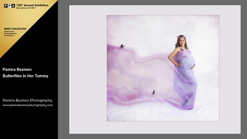 Pamira Bezmen Photography, Butterflies in Her Tummy
