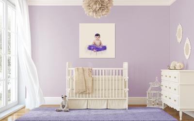 Cottage-Chic Nursery Lila girl