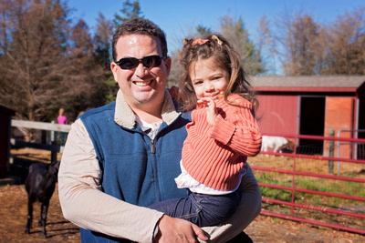 Family Visit to For The Animals Sanctuary. Compassionate living. Photos by Pamira Bezmen Photography, New Jersey Family Photographer.