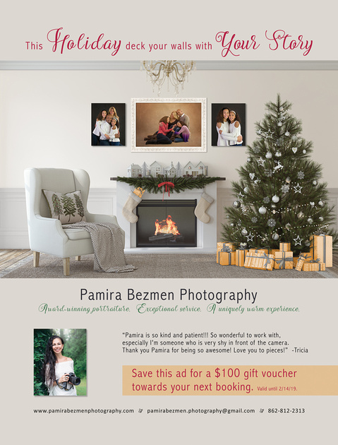 Deck Your Walls with Your Story, Pamira Bezmen Photography