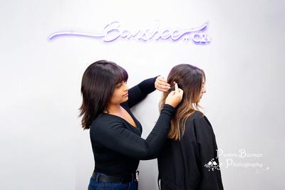 Pamira Bezmen Photography, Banshee + co. Hairdressing, Catrina LaRosa, Mike LaRosa, Team Mighty Micco, personal branding photoshoot with Pamira Bezmen