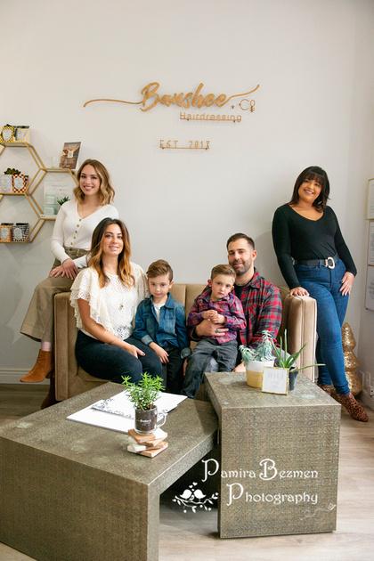 Pamira Bezmen Photography, Banshee + Co Hairdressing, New Jersey award-winning photographer, head-shots, personal branding, Catrina & Mike LaRosa, Team Mighty Micco