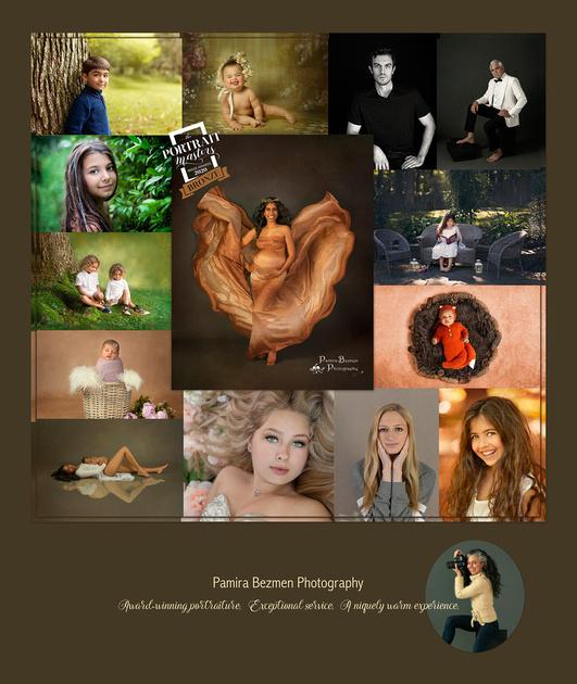 Pamira Bezmen Photography, Portrait Masters Bronze Medal 2020 logo photo small