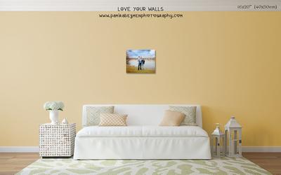 LoveYourWalls Size Chart canvas 16x20