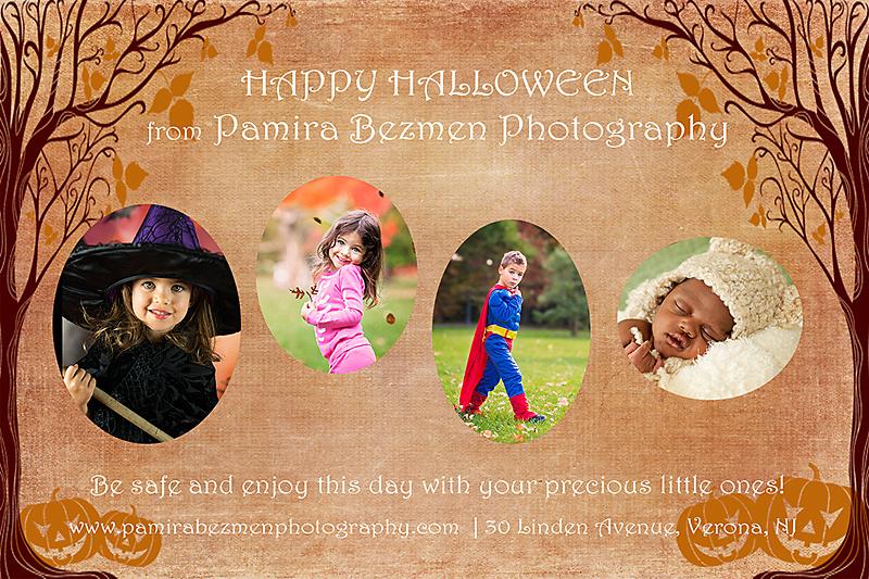 Halloween Photos by New Jersey Family and Child Photographer Pamira Bezmen Photography