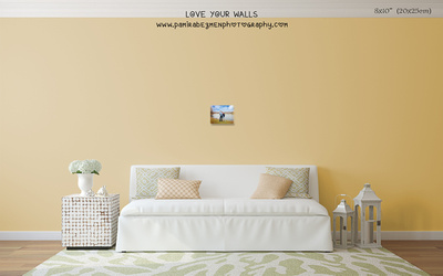 LoveYourWalls Size Chart canvas 8x10