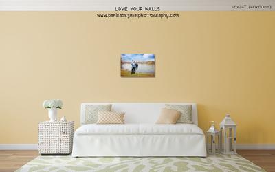 LoveYourWalls Size Chart canvas 16x24